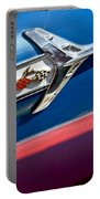1960 Chevrolet Impala Emblem 7 Portable Battery Charger by Jill Reger