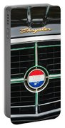 1960 Chrysler 300f Convertible Grille Emblem Portable Battery Charger