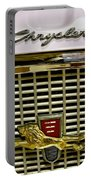 1960 Chrysler Windsor Hood Grill Portable Battery Charger
