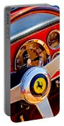 1960 Ferrari 250 Gt Cabriolet Pininfarina Series II Steering Wheel Emblem -1319c Portable Battery Charger