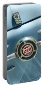 1960 Fiat 600 Jolly Emblem Portable Battery Charger