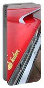 1960 Ford Galaxie Starliner Taillight Emblem Portable Battery Charger