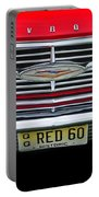 1960 Red Chevy Portable Battery Charger