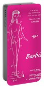 1961 Barbie Doll Patent Art 1 Portable Battery Charger
