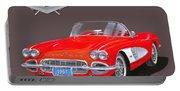 1961 Corvette Convertible Portable Battery Charger
