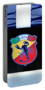 1961 Fiat-abarth 1000 Bialbero Gt Competition Coupe Emblem Portable Battery Charger