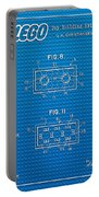 1961 Lego Building Blocks Patent Art 1 Portable Battery Charger
