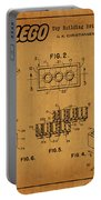 1961 Lego Building Blocks Patent Art 5 Portable Battery Charger