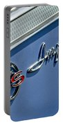 1962 Chevrolet Impala Emblem Portable Battery Charger