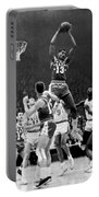 1962 Nba All-star Game Portable Battery Charger by Underwood Archives