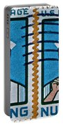 1962 Nursing Stamp Collage Portable Battery Charger