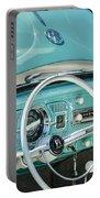 1962 Volkswagen Vw Beetle Cabriolet Steering Wheel Portable Battery Charger