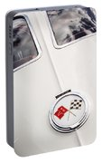 1963 Chevrolet Corvette Split Window Emblem -445c Portable Battery Charger