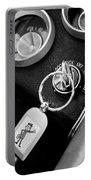 1963 Chevrolet Corvette Split Window - Mr Zip Key Ring -173bw Portable Battery Charger