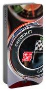 1963 Chevrolet Corvette Split Window Steering Wheel Emblem -170c Portable Battery Charger