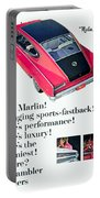 1965 - Rambler Marlin - Automobile Advertisement - Color Portable Battery Charger