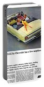 1965 Chevelle Convertible Portable Battery Charger