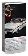 1965 Ford Falcon Ad Portable Battery Charger
