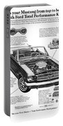1965 Ford Mustang Performance Kits Portable Battery Charger