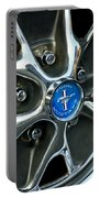 1965 Ford Mustang Wheel Rim Portable Battery Charger