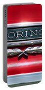 1965 Ford Torino Emblem Portable Battery Charger