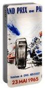 1965 Grand Prix De Paris Portable Battery Charger