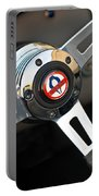 1965 Shelby Cobra 427 Steering Wheel Emblem Portable Battery Charger