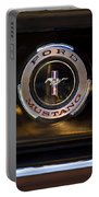 1965 Shelby Prototype Ford Mustang Emblem 2 Portable Battery Charger