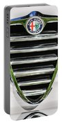 1966 Alfa Romeo Gtc Grille Emblem -1438c Portable Battery Charger