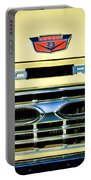1966 Ford Pickup Truck Grille Emblem Portable Battery Charger