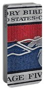 1966 Migratory Bird Treaty Stamp Portable Battery Charger