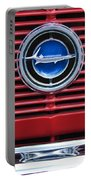 1966 Plymouth Barracuda - Cuda Grille Emblem Portable Battery Charger