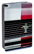 1966 Shelby Cobra Gt 350 Grille Emblem Portable Battery Charger