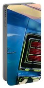 1967 Chevrolet Malibu Taillight Emblem Portable Battery Charger