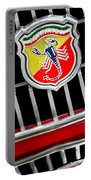 1967 Fiat Abarth 1000 Otr Emblem Portable Battery Charger