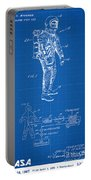 1967 Nasa Astronaut Ventilated Space Suit Patent Art 1 Portable Battery Charger