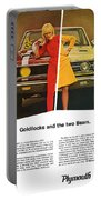 1967 Plymouth Gtx - Goldilocks And The Two Bears. Portable Battery Charger