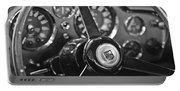 1968 Aston Martin Steering Wheel Emblem Portable Battery Charger