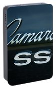 1968 Chevy Camaro Ss Logo Portable Battery Charger