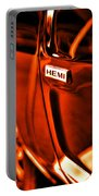 1968 Hemi Dodge Charger Portable Battery Charger