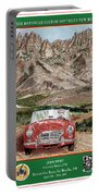 Mountain Rallying In A 1968 M G B  Portable Battery Charger