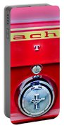 1969 Ford Mustang Mach 1 Rear Emblems Portable Battery Charger