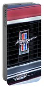 1969 Mustang Mach 1 Grille Emblem Portable Battery Charger