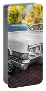 1970 Cadillac Coupe Deville Convertible Painted  Portable Battery Charger