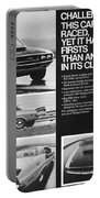 1970 Dodge Challenger T/a Portable Battery Charger