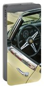 1970 Jaguar Xk Type-e Steering Wheel Portable Battery Charger