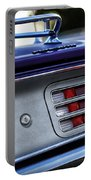 1970 Plum Crazy Purple Plymouth 'cuda Portable Battery Charger