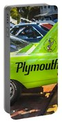 1970 Plymouth Road Runner Hemi Super Bird  Portable Battery Charger