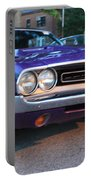 1971 Challenger Front And Side View Portable Battery Charger