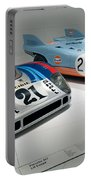 1972 Porsche 917 Lh Coupe And 1970 Porsche 917 Kh Coupe Portable Battery Charger